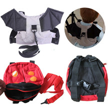 2017 lovely Cute Kids Anti-lost Toddler Safety Harness Backpack Strap Bag Walking Wings New Arrivals