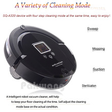 Cleaning Robot Vacuum Cleaner Robot Intelligent A320 Full Go Wireless Vacuum Cleaner UV Sterilize HEPA Filter Robotic Vacuum(China)