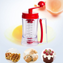 Hoomall Batter Dispensers Icing Piping Cream Butter Pastry Baking Tools Cake Batter Muffin Cupcakes Dough Bakeware Egg Whisk
