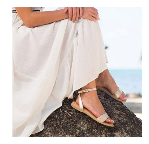 2017 new high-end head layer cowhide women sandals inside and full skin contracted fashion classic US6-8<br>
