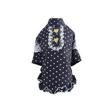 Dog Girl Clothes Comfortable Dog Dress Dot Cute Princess Bow Pet Wedding Dress For Pet Clothes Supplies