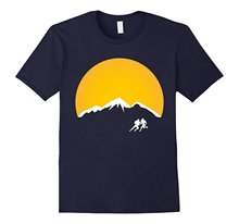 Men's Sunset Rugby T-Shirt New Arrival Male Tees Casual Boy T-Shirts Tops Discounts Tee Shirts Design Basic Top Tee(China)