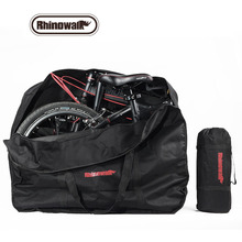 Rhinowalk 14&20 inch Folding Bag Bicycle Vehicle Carrying Backpack Storage Package 600D Multifunction Durable Folding Bike Pack(China)
