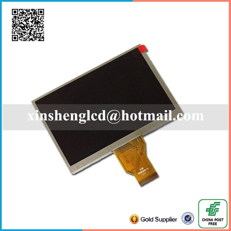 for INNOLUX 6.5 inch TFT LCD Digital Screen AT065TN14 WVGA 800(RGB)*480<br><br>Aliexpress