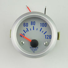 52mm Digital 40-120 Celsius Auto Car motorcycle modification Racing Water Temp Gauge With sensor Free shipping(China)