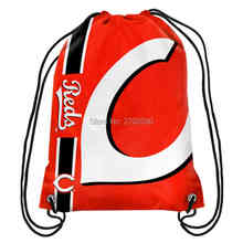 Cincinnati Reds Sox Drawstring Bags Men Sports Backpack Baseball Team Digital Printing Pouch Customize Bags 35*45cm Sports US(China)