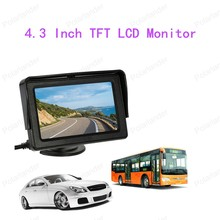 best selling LCD Car Monitor 4.3 Inch Backup Car Reverse System with Wireless Video Transmit + Mini Camera