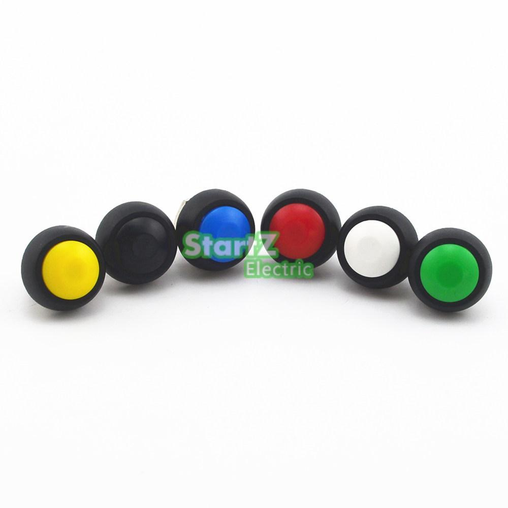 1pcs  Momentary Push Button Horn Switch OFF (ON) 12V Car Dashboard Boat SPST<br><br>Aliexpress