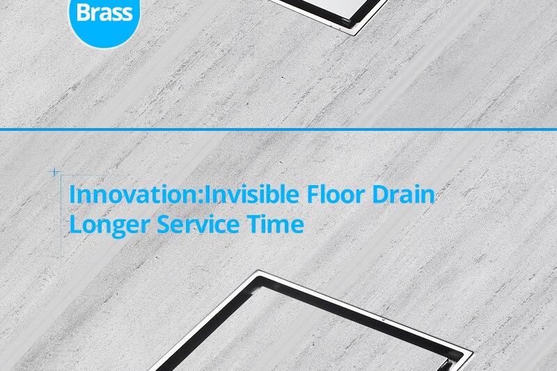DCAN Brass Drains Drain Strainers Floor Linear Shower Floor Drains Bathroom Shower Drain Cover Kitchen Filter Strainer Drainer (3)