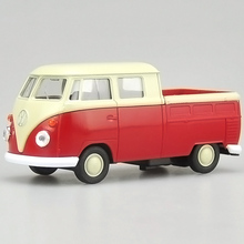 Brand New Welly cool 1:36 mini classic Volkswagen T1 bus pickup truck pull back alloy model car toy birthday gift Free Shipping