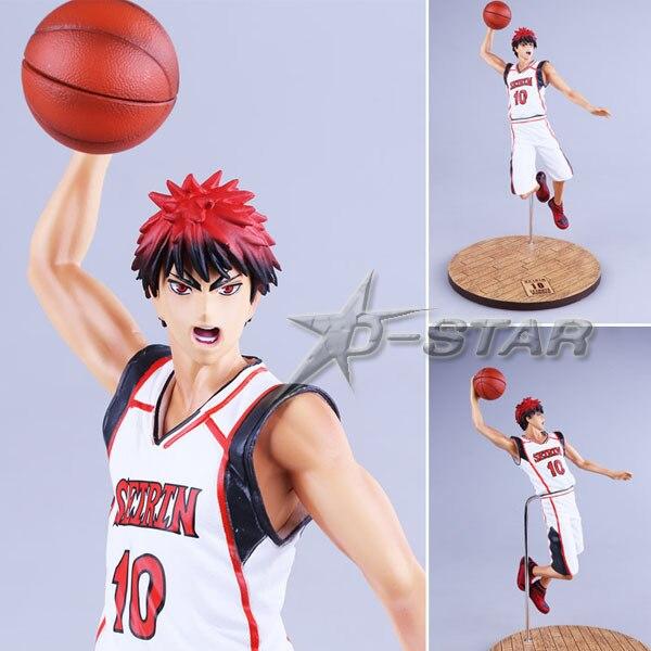 Free Shipping Cool 11 Kurokos Basketball Kuroko no Basuke Kagami Taiga Boxed PVC Action Figure Collection Model Toy Gift<br>