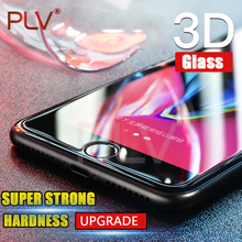 PLV Screen Protector For iPhone 6 Glass 3D For iPhone 7 7 Plus 8 8 Plus 9H Tempered Glass For iPhone 4 4s 5 5s  6s 6 Plus Glass