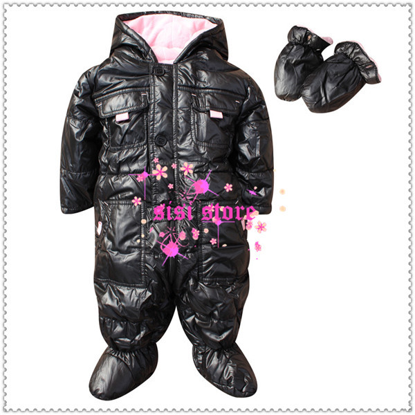 Free Shipping 2013 New Arrival Hot Selling Thick warm quilted Romper premium quality romper Infant  jumpsuit LQ49<br><br>Aliexpress