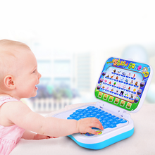 1* Hot Kids Learning Cartoon Folding Chinese  English Teaching Machine Mini Point Reading Educational Toys For Children Computer