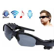 New Sunglasses Sun Glasses Bluetooth Wireless Headset Headphones Music Earphone For iphone all Smart Phone Tablet Samsung(China)
