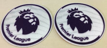 2 pcs Top quality 16 17 EPL Premier League patches white soccer patch for leicester city 2016-2017 season game soccer Badges(China)