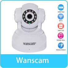 WANSCAM P2P Surveillance Wireless Wifi Two-way Audio Remote Rotate Motion Detection Network Sensor Night Vision IP Camera(China)