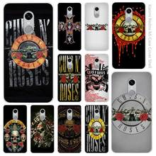 Hot sale  guns n roses Clear Cover Case Coque for Xiaomi Redmi Mi Note 3 3s 4 4A 4X 5 5S 5C 6 Pro
