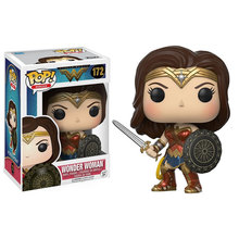 Funko POP Movies DC Wonder Woman Action Figure Model with gift box In STOCK Christmas Gift
