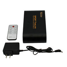 High Quality Digital Optical Audio True Matrix 4x2 Switch Switcher Splitter 4 In 2 Out Video Converter With A Remote Control