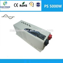Factory Directly Selling DC AC Off Grid Inverter Low Frequency 5000w Hybrid Solar Inverter ,CE&RoHS approved(China)