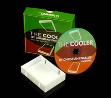 The Cooler / 2013 HOT NEW / close-up card magic trick products / wholesale / free shipping,DVD+gimmick(China)