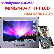 FriendlyARM Development Board ARM Kit MINI2440 +7 inch Touch Screen LCD,64M RAM+256M Flash,S3C2440 ARM9 2440(China)