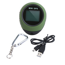 Mini GPS Module Tracker for Hiking, Location Finder Handheld GPS Tracking System with Keychain(China)