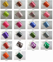 22 Colors Choice 1mm 100 Yards Satin Silk/Rattail Cord for Jewelry Macrame(China)