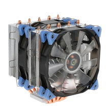 2017 VTG 5 Heatpipe Radiator 4pin CPU Cooler Fan Cooling 5 Direct Contact Heatpipes with 120mm Fan for Desktop Computer(China)