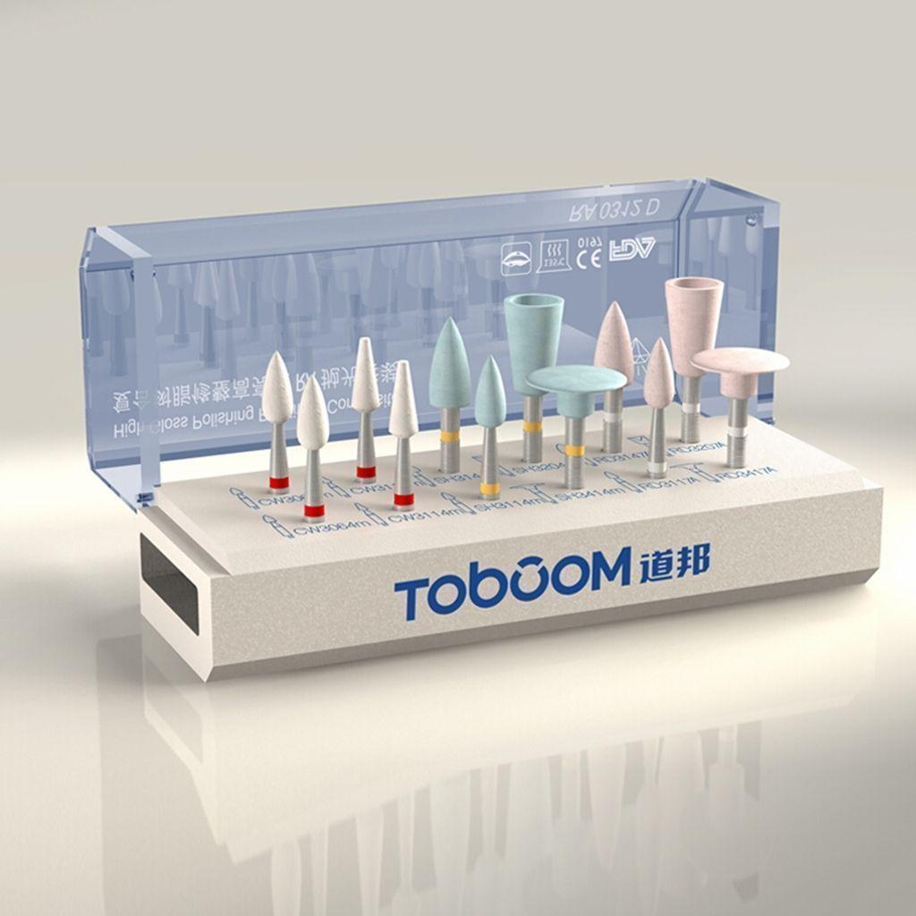 Polishing Kit for Composite Resin Dental Oral Polisher Grinder RA0312D 12pcs/set<br>