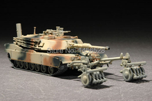 TRUMPETER 07278 1/72 M1A1 with Mine Roller Set Assembly Model kits scale model 3D puzzle vehicle model(China)