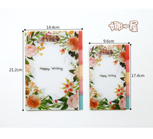 2017 New PP Material Dividers for Dokibook Notebook Candy Flower Index Paper Core for Agenda Planner Organizer notebook A5&A6