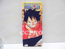 One Piece PVC cloth handmade wallet/long style purse w/ Monkey D Luffy printing!(China)