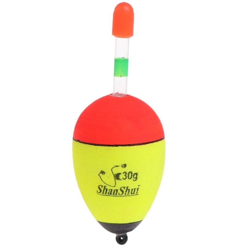 """NEW Lot of 3 Neon Yellow Bobbers 3/"""" Styro-Foam bobbers"""