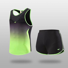 2017 Men soccer sets sport jerseys football jersey throwback jerseys shirts running shorts sleeveless Training Suit DIY printing(China)