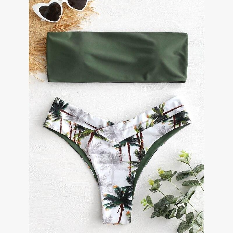 Push up swimsuit Print micro bikini 45