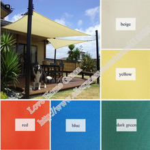 For Customized UV Waterproof Sun Shade Net Combination Shade Net Sun Shade Sail 1 square meters(China)