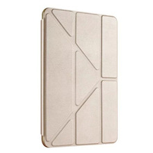 Ultra Thin Stand Design TPU Soft case For iPad Air 2 Cover Colorful Flip Smart Cover Smart Table Case cover+pen+film