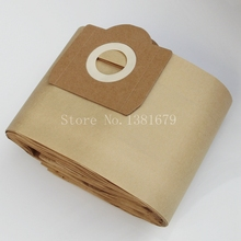 Free shipping 10pcs Paper dust bags suitable for ROWENTA ZR81 ZR814 ZR82 Karcher A2700 Hoover H31 S6145 19L filter Bags(China)