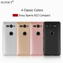 Buy HATOLY Phone Case Sony Xperia XZ2 Compact Case Soft Rubber Silicon Armor Back Phone Cover Sony Xperia XZ2 Compact Case ( for $2.00 in AliExpress store