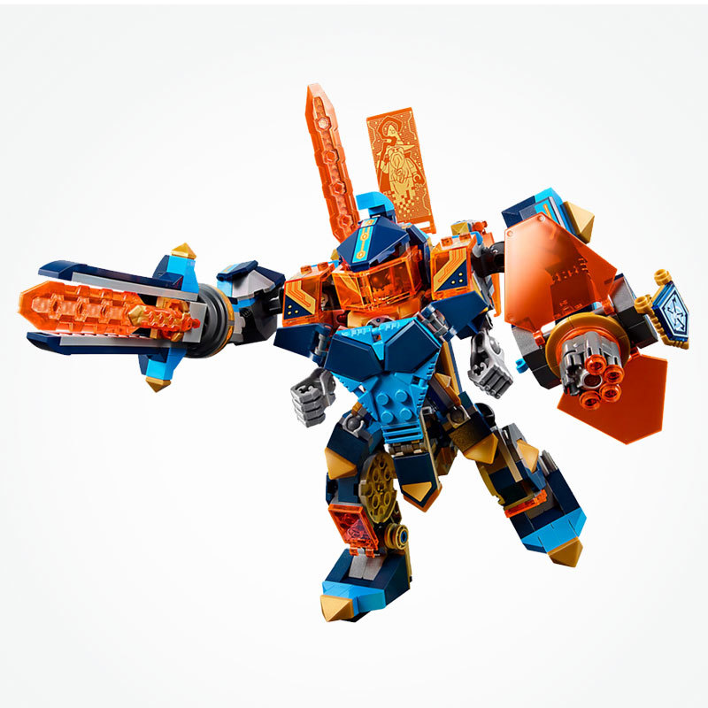 LEgoing Nexo Knights