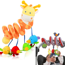 Infant Toys Baby Crib Revolves Around The Bed Stroller Playing Toy Crib Lathe Hanging Baby Toys Rattles Mobile