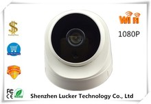 Wireless WIFI 1080P IP Dome Camera 1920*1080 Infrared NightVision Audio Support 32G Mini SD Card XMEYE CMS P2P Mobile(China)