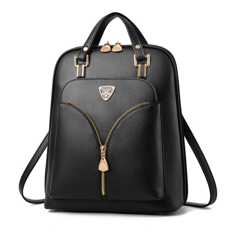 Nevenka Anti Theft Leather Backpack Women Mini Backpacks Female Travel Backpack for Girls School Backpacks Ladies Black Bag 201807