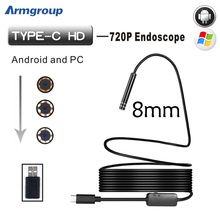 Armgroup Android Endoscop USB Camera Type C USB Endoscopio Inspection Camera PC Android for Huawei Phones Borescope