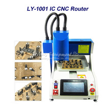 LY 1001 automatic for iphone ic remove router , cnc machine for iPhone Main Board Repair, Russia free tax