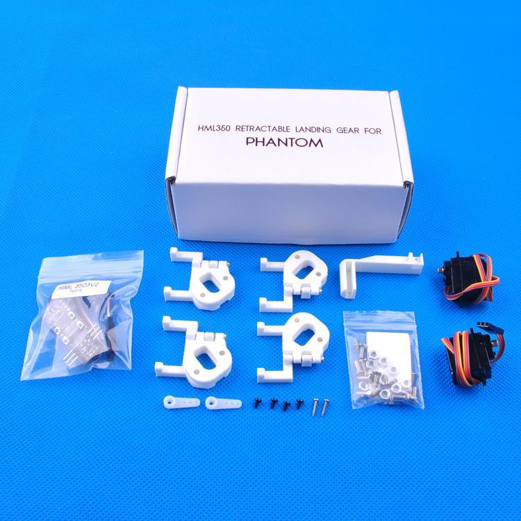 F15554 HML350 V2 FPV Electric Retractable Landing Gear Skid Folding for  Phantom2 Phantom 2 Vision+ Plus Quadcopter Drone<br>