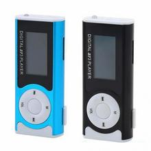 Popular MP3 Media Player 1.3LCD Display Mini USB Clip LCD Screen Support 16GB Micro SD TF LED flashlight 3.5mm MP3 music Player(China)