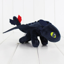 33CM How to Train Your Dragon Plush Toy Night Fury Plush Toys Toothless Dragon Stuffed Animal Dolls